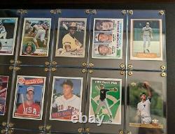 (10) Hall of Fame RC Lot Topps 1982 Ripken 1983 Gwynn Sandberg 1993 Jeter PSA