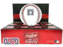 (12) Rawlings Official Hall of Fame Baseball Manfred Dozen