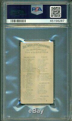 1887 John Ward N28 Allen & Ginter Cigarettes PSA 2 Hall of Fame