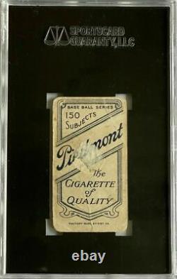 1909-11 T206 Piedmont 150 Walter Johnson Portrait Hall Of Fame Pr 10 Sgc 1