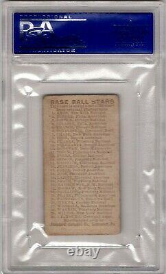1910 E93 Standard Caramel Honus Wagner Vintage Pirates Hall Of Fame Psa 4