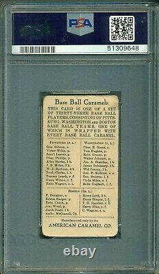 1910 Honus Wagner E91 American Caramel PSA 2 Baseball Hall of Fame Legend