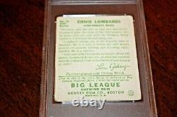 1934 Goudey Ernie Lombardi #35 PSA 3 VG Cincinnati Reds Hall of Fame HOF