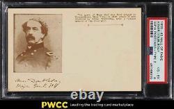 1939 Hall Of Fame Sepia Postcard Abner Doubleday Major General PSA 4