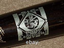 1939 National Baseball Hall of Fame Opening Day Bat Cooperstown