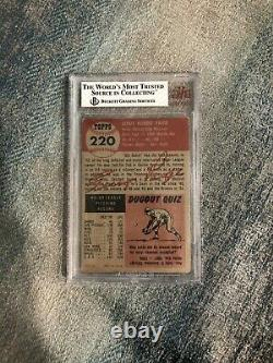 1953 TOPPS LEROY SATCHELL PAIGE #220 BVG 3 VERY GOOD HOF Hall of Fame ST LOUIS