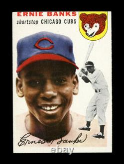 1954 Topps #94 Ernie Banks Hall Of Fame Rookie Card Chicago Cubs