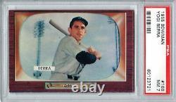 1955 Bowman #168 Yogi Berra PSA 7 NM Yankees Hall of Fame
