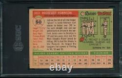 1955 Topps #50 Jackie Robinson Brooklyn Dodgers Hall-Of-Fame SGC 1.5 Fair