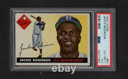 1955 Topps #50 Jackie Robinson Brooklyn Dodgers Hall of Fame PSA 6.5
