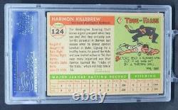1955 Topps Harmon Killebrew Rookie Card #124 Twins Hall Of Fame Hof Rc Psa 5 Ex