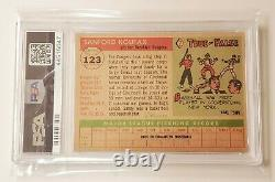 1955 Topps Sandy Koufax #123 PSA Good 2 Dodgers Rookie Hall of Fame Cy Young RC