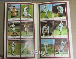 1961 Golden Press Hall Of Fame Baseball Stars Complete Book Free Shipping