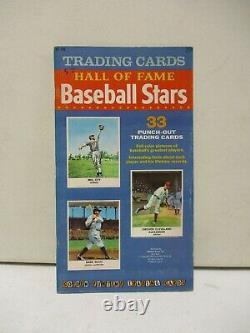 1961 Golden Press Hall of Fame Baseball Stars