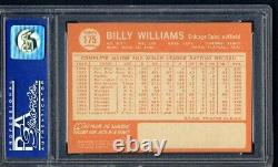 1964 Topps # 175 Billy Williams PSA 9 Chicago Cubs Hall of Fame PSA # 08013605