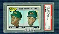 1965 Topps JOE MORGAN Rookie RC Baseball Card #16 PSA 5 Hall Fame HOF GOAT