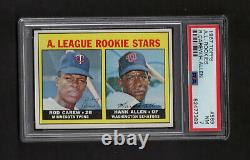 1967 Topps #569 Rod Carew Rookie Card RC PSA 7 No Qualifiers Hall of Fame