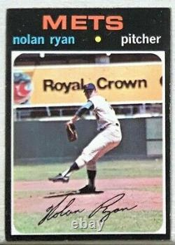1971 Topps New York Mets Nolan Ryan #513 Ex-mt Well Centered Hall Of Fame