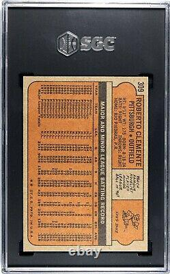 1972 Topps Roberto Clemente 309 SGC 8 NM MT Baseball Card Hall Of Fame Pirates
