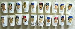 1973 7-Eleven Baseball Trading Cups Set 60 + 20 Hall of Fame Cups & Scorecard