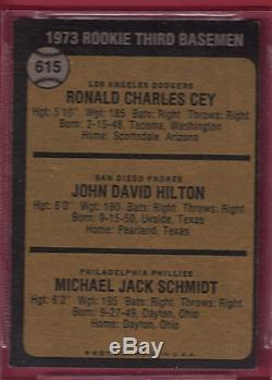 1973 Topps Mike Schmidt Hall of Fame Rookie BVG 7.5 NM+ (Centered 50/50)