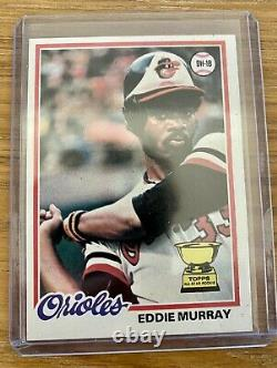 1978 Topps Eddie Murray Rookie Card #36 3000 Hits & 500 HR Hall of Fame