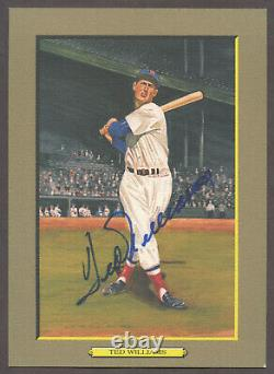 1990 Perez-Steele Great Moments #13 Ted Williams Autographed Hall-of-Fame JSA