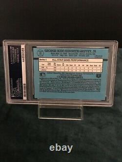 1991 Donruss Ken Griffey Jr All Star #49 PSA 10 GEM MINT POP 56 Hall Of Fame