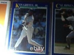 1991 Score #2 Ken Griffey Jr Seattle Mariners Hall Of Fame