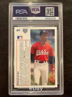 1991 Upper Deck MICHAEL JORDAN #SP1 MINT PSA 9 (Hall of Fame not Baseball)
