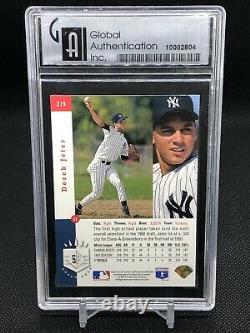 1993 SP #279 DEREK JETER ROOKIE CARD GAI 9 PSA MINT HOF YANKEES Hall Of Fame BGS