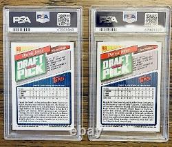 1993 Topps Derek Jeter(2) New York Yankees PSA 10 Hall of Fame #98 Invest