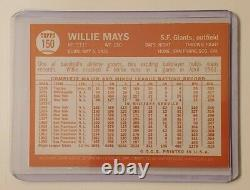 1997 Topps Willie Mays #150 1967 Autographed Retro SP Giants Hall of Fame Auto
