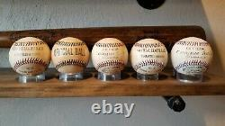 1st Hall of Fame Class of 1936 Reproduction Autographed Baseball Set