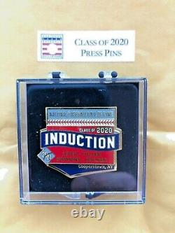 20/21 Baseball Hall Of Fame Induction Day Press Pin Derek Jeter Cooperstown