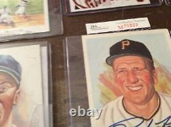 20 perez steele baseball hof autographs hall of fame 16 psa 4 non read