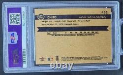 2001 Fleer Ichiro Suzuki Rookie Card #452 Rc Future Hof Hall Of Fame Psa 9 Mint
