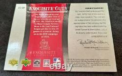 2006 Exquisite Cuts Autographs Dizzy Dean RARE HALL OF FAME MVP CUT AUTO SP/30
