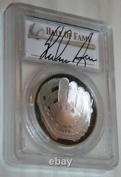 2014-P $1 PCGS PR70 DCAM FIRST STRIKE Nolan Ryan Baseball hall of Fame RaRe Coin