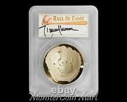 2014-P $1 Silver Baseball Hall of Fame PCGS PR70DCAM RANDY JOHNSON Signed