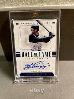 2018 National Treasures Hall Of Fame Signatures Ken Griffey Jr Auto /25