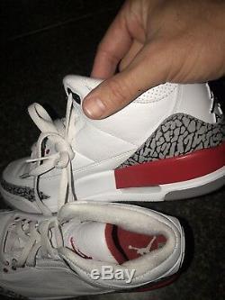 2018 Nike Air Jordan Retro 3 Katrina Hall Of Fame A136064-116 Size 10.5