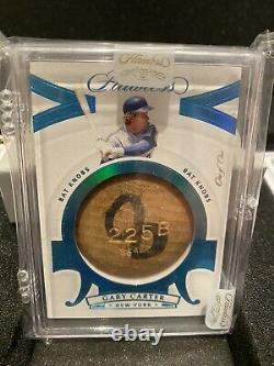 2020 Flawless Bat Know 1/1 Gary Carter Mets Hall Of Fame HOF Briefcase Hit
