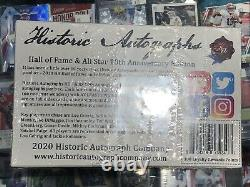 2020 Historic Autographs Hall Of Fame & All Star Factory Sealed Hobby Box