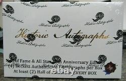 2020 Historic Autos Hall of Fame & All Star 10th Annv Edition Factory Sealed Box
