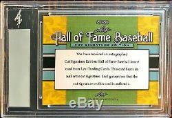 2020 Leaf Hall Of Fame Edition Connie Mack Cut Signature #1/3 Ultra Rare