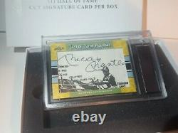 2020 Leaf Hall of Fame Baseball Cut Signature Mickey Mantle Auto #17/17 Yankees