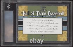 2020 Leaf Hall of Fame Joe DiMaggio Cut Signature Auto Autograph /31