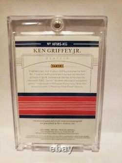 2020 Panini National Treasures Hall Of Fame Ken Griffey Jr Auto Relic 09/12