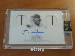 2020 Topps Dynasty Randy Johnson Dual Jersey Auto 3/5 Hall Of Fame Pitcher